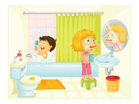 H bitos de autonom a higiene for Sanitarios infantiles